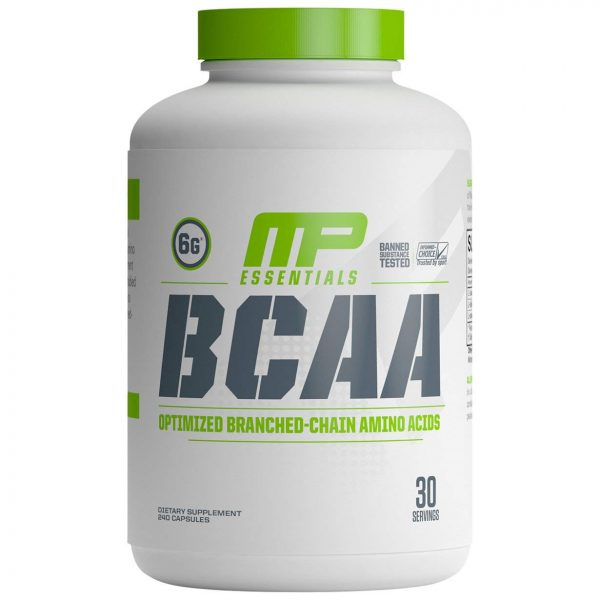 MusclePharm BCAA Essentials (240 капсул)