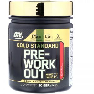 Предтреник Optimum Nutrition Gold Standard (30 порций)
