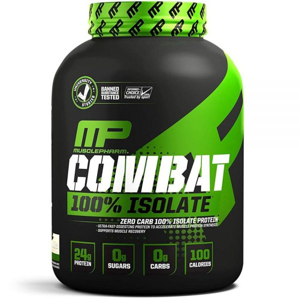 Протеин MusclePharm Combat 100% Isolate (2268 г)